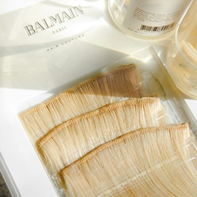 Balmain Double Hair Weft Extensions in Dallas