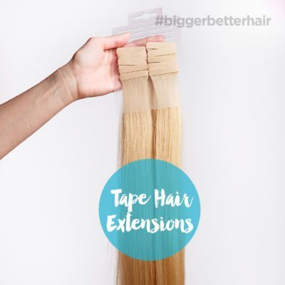 Tape Hair Extensions in Dallas | How They Work