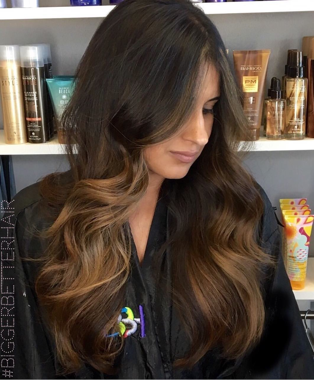 Balayage highlights dallas hair color 101 soft balayage highlights around her root area heavier near her ends end result a brightened overall look that will grow out easily pmusecretfo Image collections