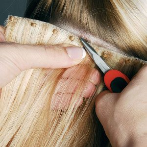 Bead Weft Hair Extensions No Heat Glue Or Tape