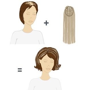 Hairdreams Highlines Hair Extensions System