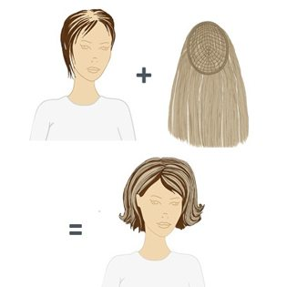 Hairdreams Microline Hair Replacement System | Hair Replacement Extensions