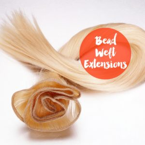 Bead Weft Extensions
