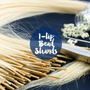 I-tip bead Strands
