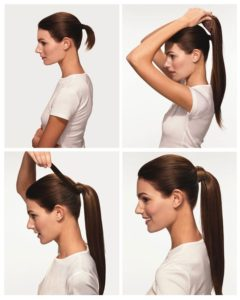 ponytail hair extensions how to