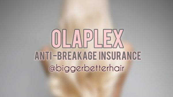 Olaplex Treatment & Hair Products @Biggerbetterhair